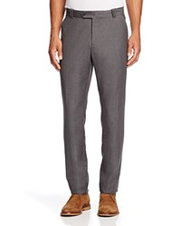 Bloomingdale's The Men's Store At Wool Flannel Trousers Pewter