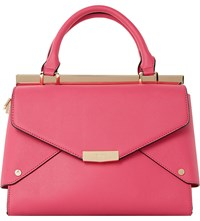 Dune Delaney Faux Leather Tote Fuschia Synthetic