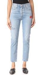Agolde Jamie High Rise Classic Jeans The End