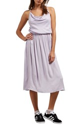 Volcom Mystic Mama Dress Lavender