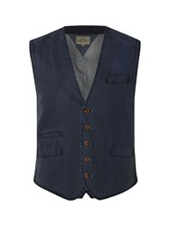 White Stuff Engineer Waistcoat Navy