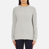 Levi's Women's Aran Jumper Icy Grey Heather
