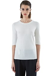 Pre Ss16 Agnona Round Neck Cashmere Knit Sweater