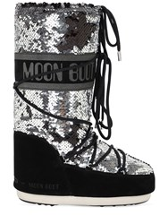 Moon Boot Classic Disco Boots Black
