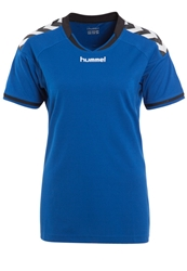 Hummel Stay Authentic Sports Shirt True Blue