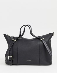Ted Baker Oellie Textured Tote Bag Black