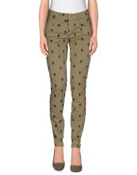 Maison Clochard Trousers Casual Trousers Women Khaki