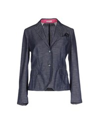 Manuel Ritz Suits And Jackets Blazers Women Blue