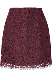 Carven Lace Mini Skirt