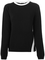 Paco Rabanne Crew Neck Sweater Black