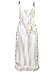 Lemlem Striped Sundress White