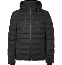 Aztech Mountain Nuke Uit Waterproof Twill Down Jacket Charcoal