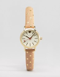 Johnny Loves Rosie Polka Dot Watch Gold