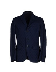 Montedoro Suits And Jackets Blazers Men Dark Blue