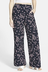 Sugarhill Boutique Floral Print Palazzo Pants Juniors Blue