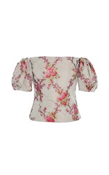 Brock Collection Boie Off The Shoulder Blouse Floral