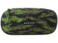 Burton Switchback Case Slime Camo Print Wallet Gray