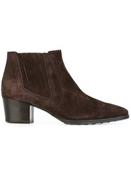 Tod's Chelsea Boots Brown