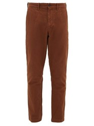 Saturdays Surf Nyc John Cotton Twill Chino Trousers Brown