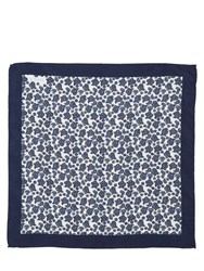 Eton Printed Silk Pocket Square