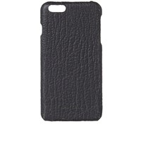 Rick Owens Textured Leather Iphone 6 Case Black