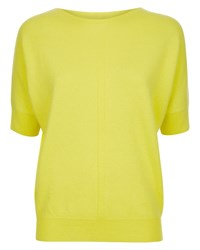 Jaeger Cashmere Slouchy Top Emerald