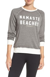 Spiritual Gangster Women's Namaste Beaches Sweatshirt