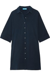 Mih Jeans M.I.H Roller Cotton Shirt Dress Navy