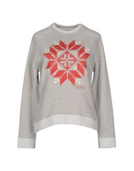 Truenyc. Sweatshirts Light Grey