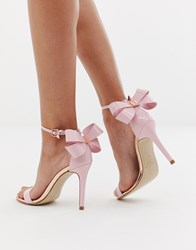 c2b1d9e16 Ted Baker Barely There Heeled Sandals Pink