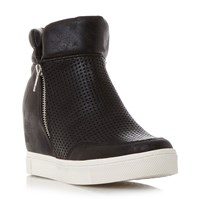 Steve Madden Linqs P Hidden Wedge Trainers Black