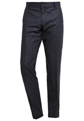 Tommy Hilfiger Tailored Suit Trousers Blue Anthracite