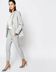 Warehouse Premium Slim Leg Pants Gray