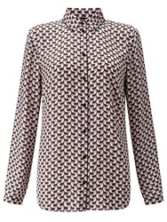 Gerry Weber Printed Shirt Off White Rose