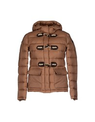 Roy Rogers Roy Roger's Coats And Jackets Down Jackets Women Camel