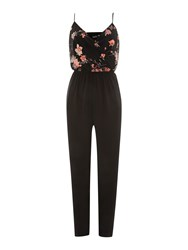 John Zack Cami Top Floral Print Jumpsuit Multi Coloured