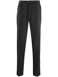 Berwich Straight Leg Tailored Trousers Grey