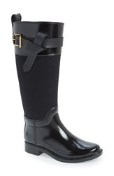 Women's Ted Baker London 'Hampto' Waterproof Rain Boot Black Rubber
