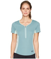Pearl Izumi Canyon Jersey Arctic Mist Green Clothing Blue