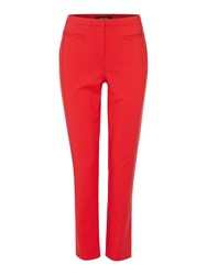Ellen Tracy Tailored Trouser Red