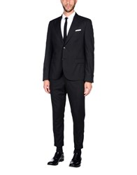Daniele Alessandrini Grey Suits And Jackets Suits