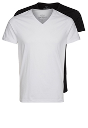 Wrangler 2 Pack Basic Tshirt Black White