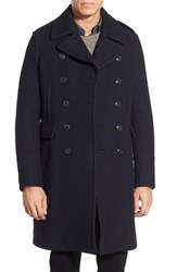 Men's Burberry The Britain 'Worton' Longline Double Breasted Peacoat