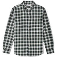 Head Porter Plus Tartan Check Shirt Green