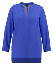 Eloquii Ki Soft Blouse Dazzling Blue Royal Blue