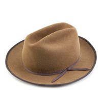 Qp Collections Camel Western Dress Hat