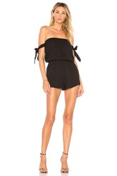 By The Way Ora Off Shoulder Romper Black