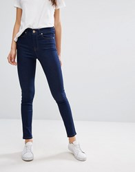 Oasis Ankle Grazer Skinny Jeans Rinse Wash Blue