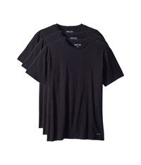 Kenneth Cole Reaction 3 Pack Classic Fit Crew Neck Tee Black Black Black T Shirt