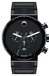Movado Men's 'Sapphire Synergy' Chronograph Bracelet Watch 42Mm